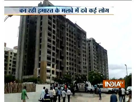 Part of under-construction building falls in Pune, 9 feared dead
