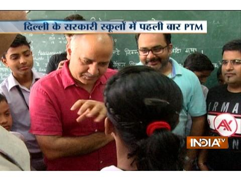 Delhi govt schools have first mega parent-teacher meeting today