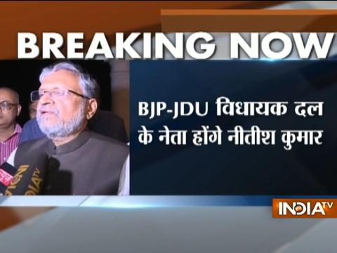 Nitish Kumar back to NDA fold, to form govt in Bihar with BJP