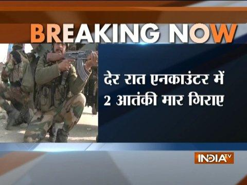 Jammu and Kashmir: Two terrorists gunned down in Baramulla encounter, one captured