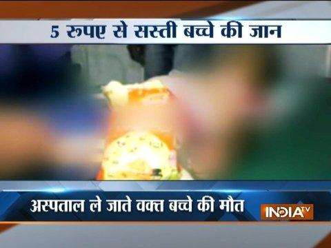 In Hyderabad, Rs 5 chipps packet claims life of 4-year-old boy
