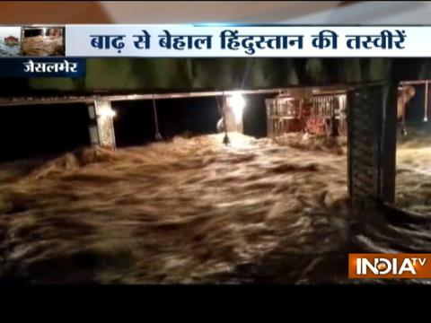 Most regions of Rajasthan record good rainfall