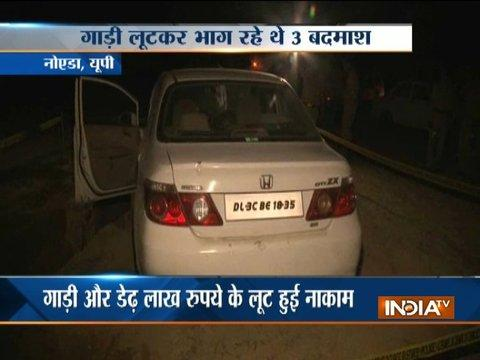 Criminal shot dead in an encounter as police foils loot bid in Noida