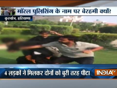Couple brutally beaten by goons in Haryana