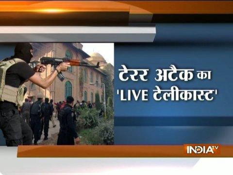 Terrorists open fire at Agricultural Directorate near Peshawar University, video released