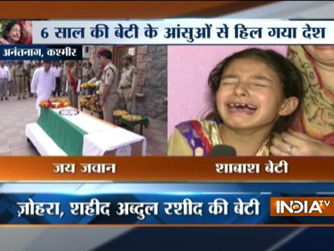 My father was a true Indian and I am proud of it, says daughter of martyr Rashid