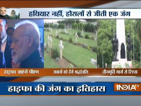 Modi Israel Visit: PM Narendra Modi to pay tribute to Haifa WW-I hero