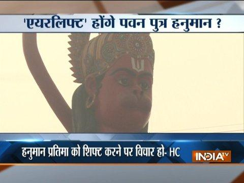 Delhi HC suggests airlifting Karol Bagh's 108-foot Hanuman statue to avoid congestion