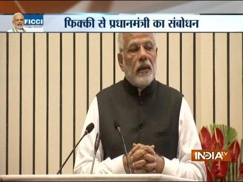 We are working to establish a system which is transparent and sensitive as well, says PM Modi