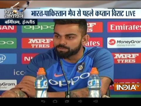 ICC Champions 2017: Virat Kohli dismisses reports of rift with head coach Anil Kumble
