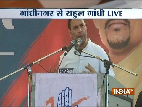 Rahul Gandhi mocks PM Modi, says GST means Gabbar Singh Tax