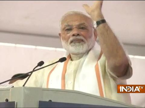 PM Modi speaks at Sabarmati Ashram centenary celebrations in Ahmedabad