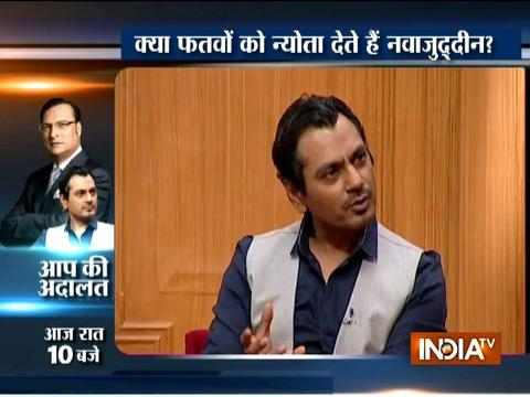 We are not proud of Bollywood, feel inferior to Hollywood: Nawazuddin Siddiqui in Aap Ki Adalat