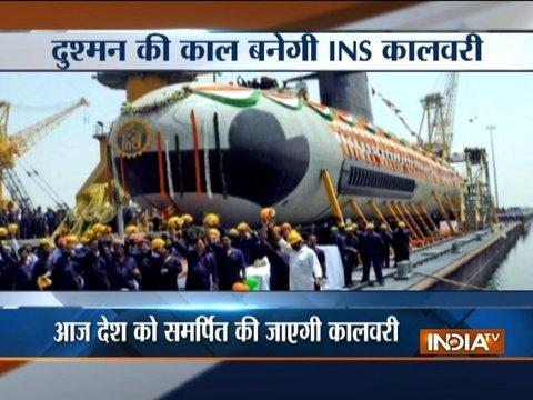 India to get first conventional submarine, PM Modi to commission INS Kalvari today