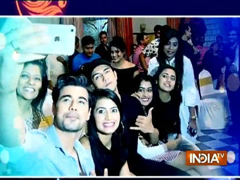 "SelfieGIRI ,celebration and lots of excitement at the screening of ""Rishta hum likhenge naya"""