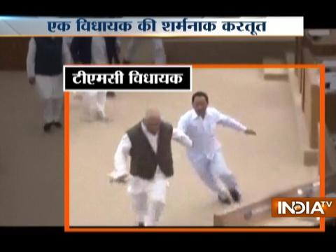 Caught On Camera : Chaos in Tripura Assembly