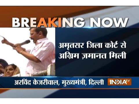 Majithia Defamation Case: Court grants intrim bail to Delhi CM Kejriwal