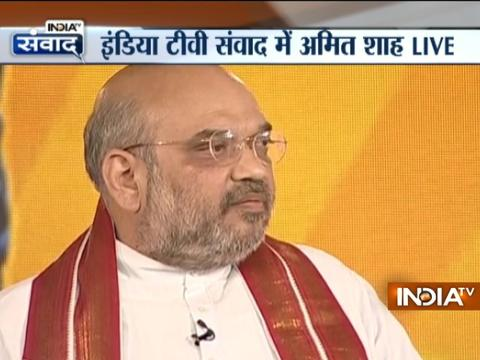 Confident of NDA candidate's win in presidential election, says Amit Shah in IndiaTv Samvaad