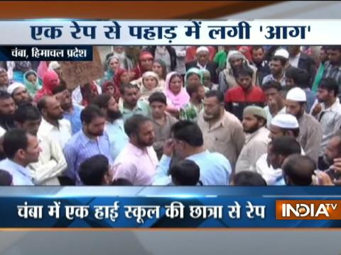 Himachal: Violent protests in Chamba as minor girl raped by teacher in School