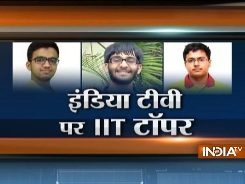 Meet the first three toppers of the JEE Advanced 2017 exams, Panchkula boy obtains 1st rank