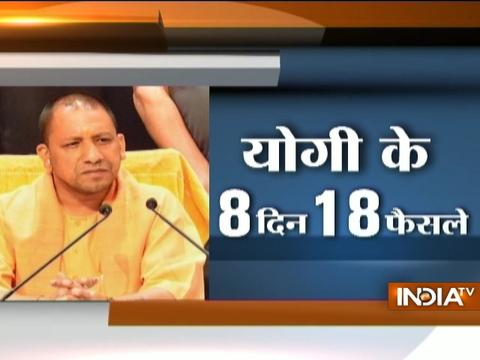 8 Days, 18 Actions: Yogi Govt cracks down on illegal activities in UP