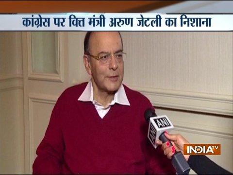 World praising India for reforms like demonetisation, GST: FM Jaitley in US