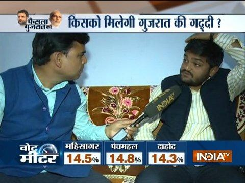 Hardik Patel Exclusive Interview: Congress is expected to get around 100 seat and will form govt