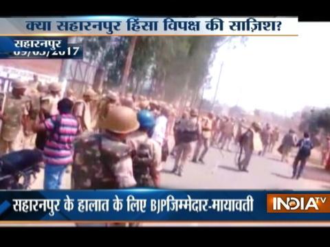 Violence re-erupts in Uttar Pradesh's Saharanpur, one killed