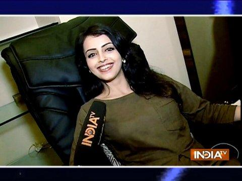 Shrenu Parikh pampers herself in a spa