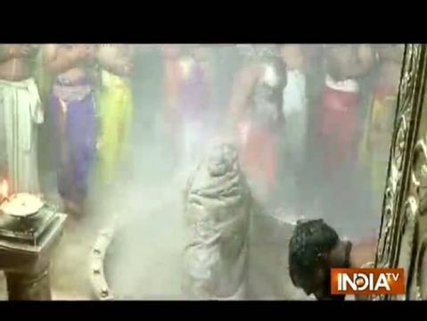 MP: 'Mahakal bhasm aarti' performed at Ujjain's Mahakaleshwar Temple