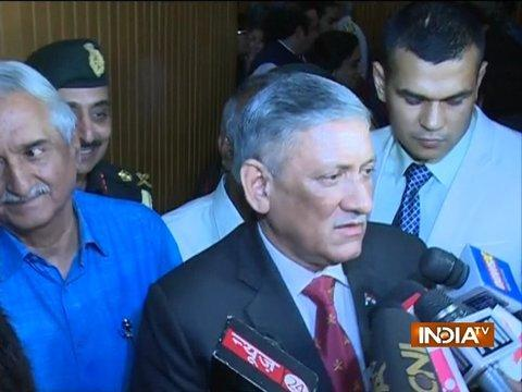 Army Chief Warns Pakistan and Terrorists Of Another Surgical Strike If Infiltration Is Not Stopped