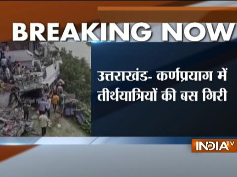 Uttarakhand: Pilgrims bus over-turns in Karnprayag, 35 injured