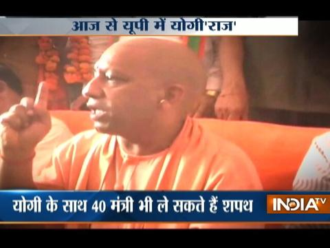 Yogi Adityanath To Take Oath As UP Chief Minister Today