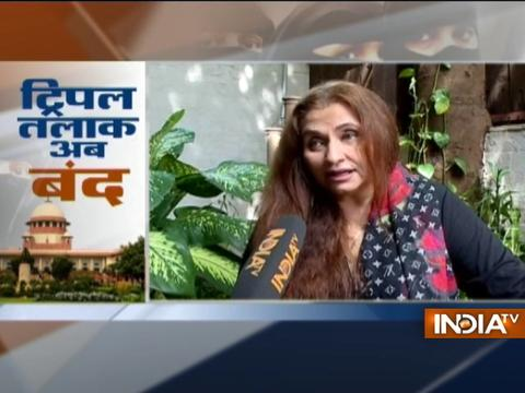 Yesteryear actress Salma Agha opens up on Triple talaq verdict