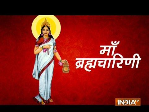 Worship Maa Brahmacharini on the second day of Navaratri