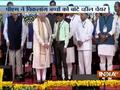 PM Modi distribute wheel chairs to differently abled children in Gujarat
