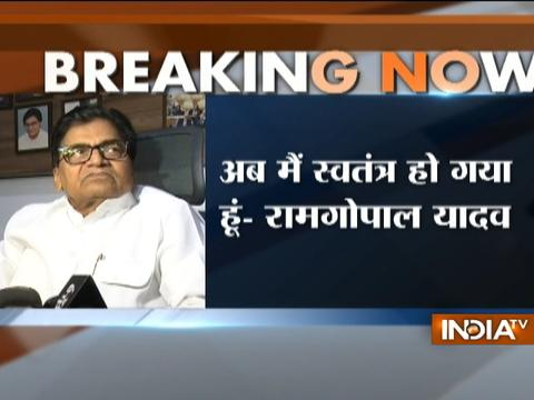 Ramgopal Yadav attacks Mulayam Singh, says his eviction is illegal