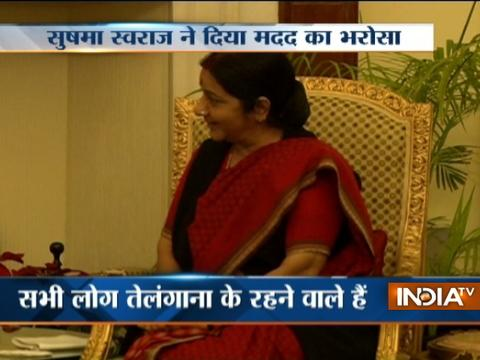 Sushma Swaraj assures help to Indian Workers Stranded in Saudi Arabia to brought back