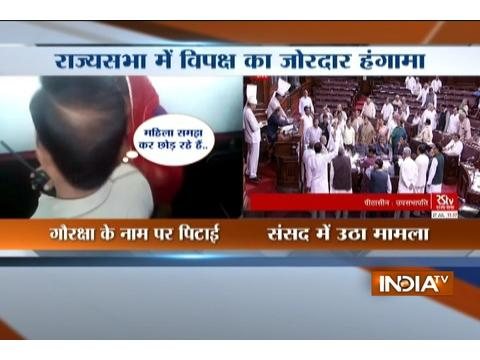 Issue of assault over women in Mansaur put up in Rajya Sabha