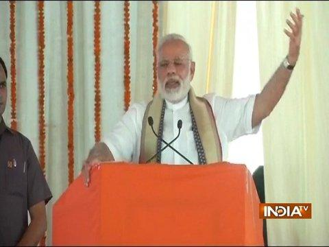 The solution to every problem lies in development: PM Modi in Varanasi