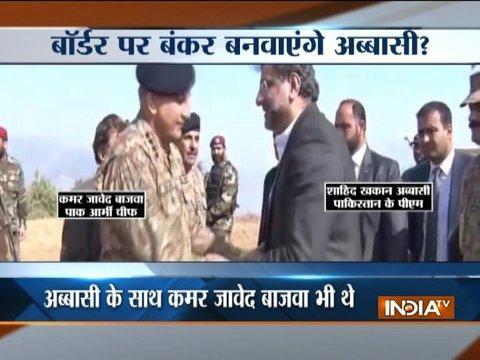Pakistan PM, army chief visit Kashmir LoC in PaK