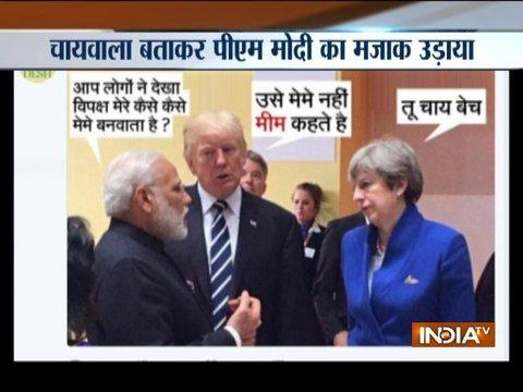 Congress Yuva Magazine mocks PM Modi with 'chai-wala' meme