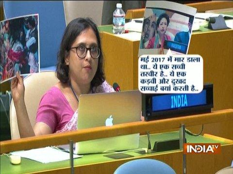 Indian diplomat Paulomi Tripathi counters Pakistan's fake image at United Nations