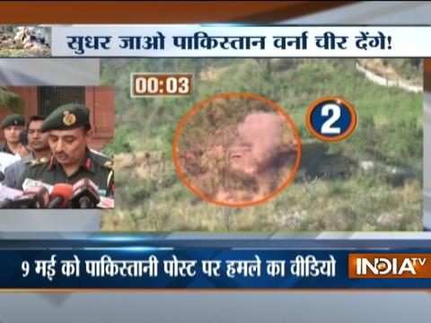 Indian Army 'destroys Pak posts' across LoC; Pak denies claim