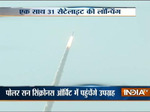 PSLV-C38 launch: ISRO places India's 'eye in the sky' Cartosat 2, 30 other satellites into orbit