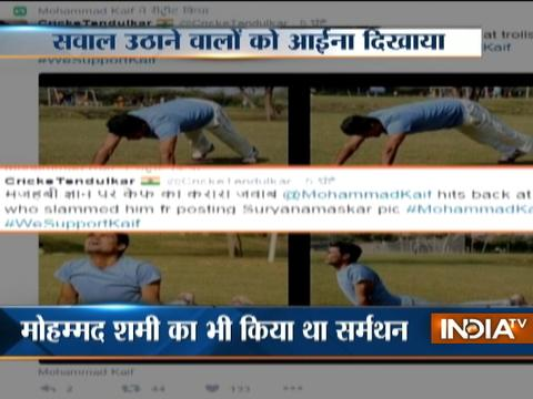 Cricketer Mohammed Kaif slams trolls for criticising his 'Surya Namaskar' images