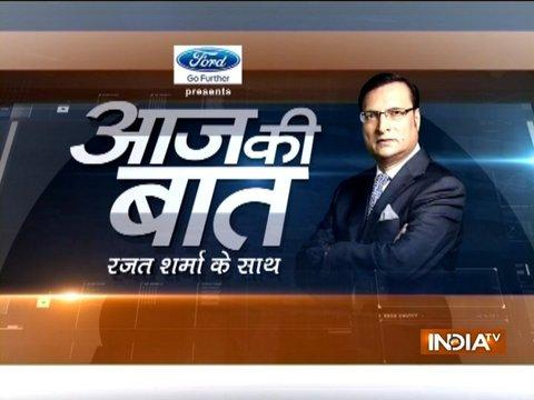 Aaj Ki Baat with Rajat Sharma | 19th September, 2017