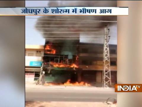 Multi-storey building catches fire in Mumbai and Jodhpur