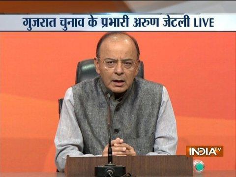 FM Arun Jaitley addresses media on demonetisation, economy, Kashmir and other issues