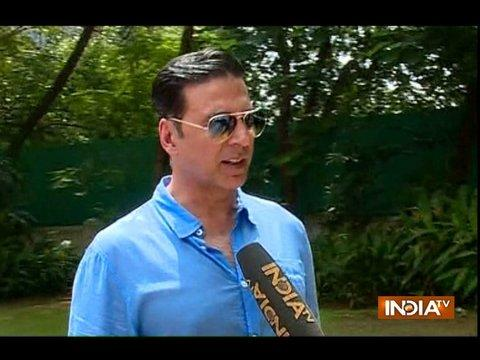 Akshay Kumar talks about his new show The Great Indian Laughter Challenge